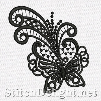 SD1107 Freestanding Lace Butterfly