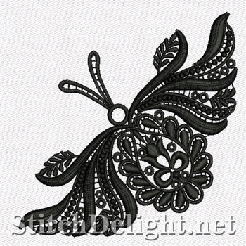 SD1111 Freestanding Lace Butterfly