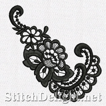 SD1112 Freestanding Lace Flower