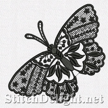SD1114 Freestanding Lace Butterfly