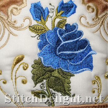SD1132 Rose Towel Toppers