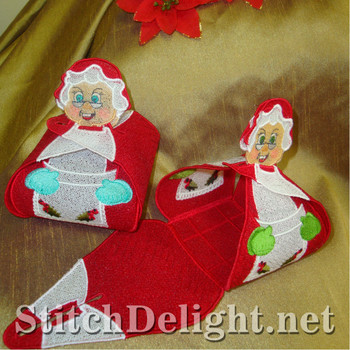 SD1031 Mrs Clause Gift Boxes