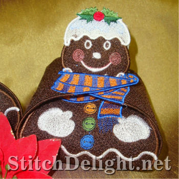SD1034 Gingerbread Man Gift Boxes