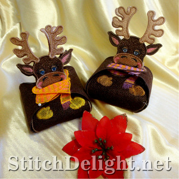 SD1039 Reindeer Gift Boxes