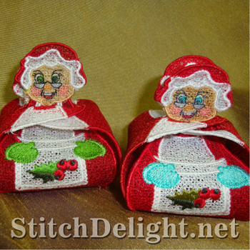 SD1045 Mrs Clause Gift Boxes