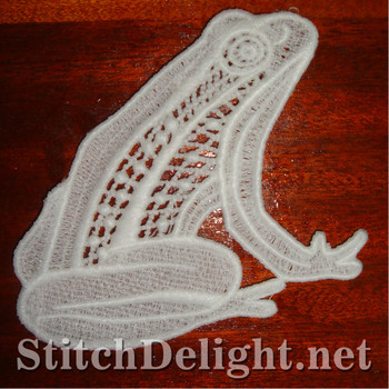 SD0929 Freestanding Lace Frog
