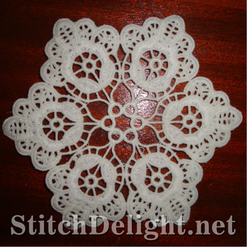 SD0972 Freestanding Lace Coaster