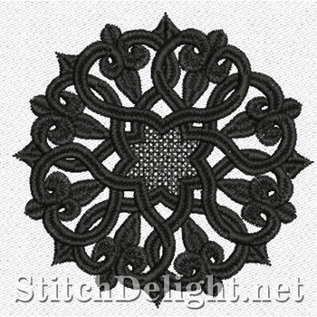 SD0976 Freestanding Lace Coaster 2