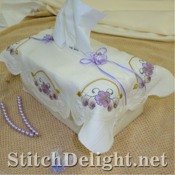 SD0725 Tissue Box Covers 1 Large Hoops
