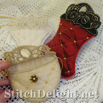 SD0729 Battenburg Lace Variety Bags
