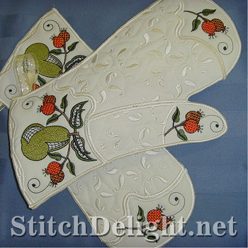 SD0682 Pear Oven Gloves