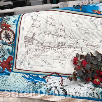 HOE0012 Airship Quilting