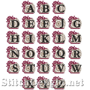 HOE0042 Gothic Font Y