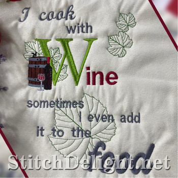 HOE0072 Cook with Wine