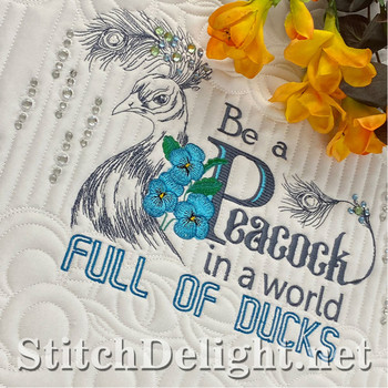 SDS1735 Peacock Quote