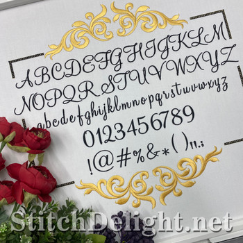 SDS5401 Montery Font