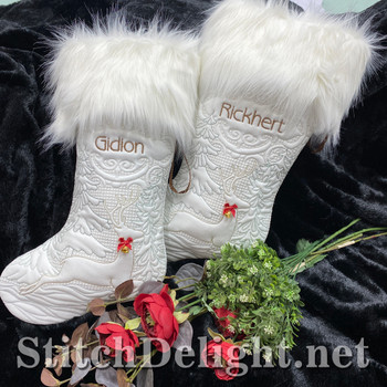 SDS1778 Snowy Day Christmas Stockings