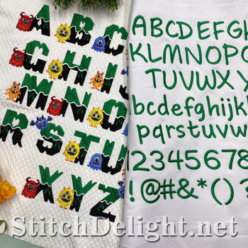 SDS1776 Scary Monster Font