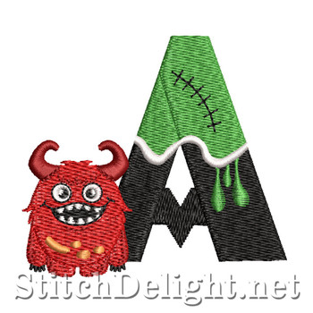 SDS1776 Scary Monster Font Font A