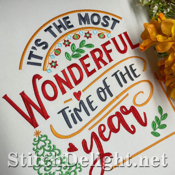 SDS1792 Christmas Time Quote