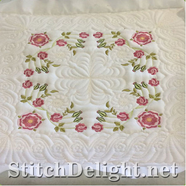 SDS0722 Tudor Rose Quiltblock Set 7