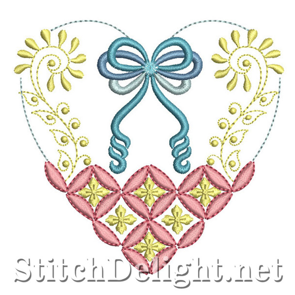 SDS0784 Quilted Heart