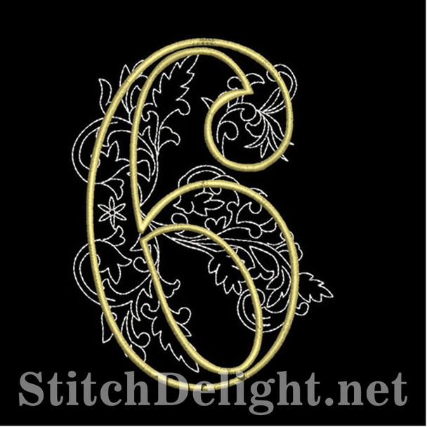 SDS1127 Quilters Font 6