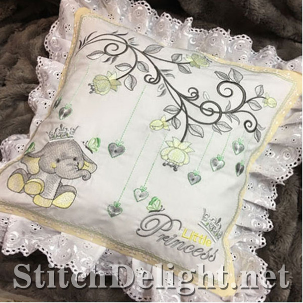 SDS1132 ITH Baby Ellie Pillow