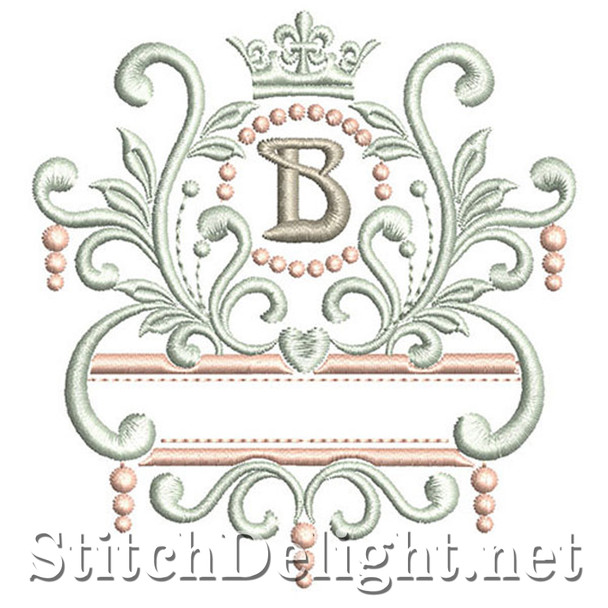 SDS1193 Elegant Royal Font B