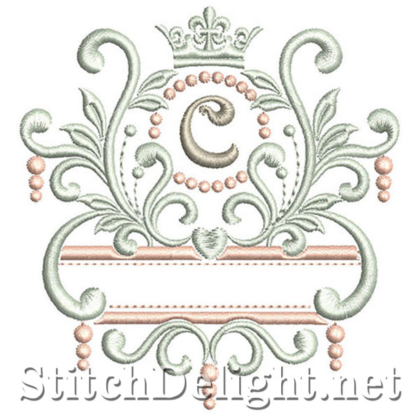 SDS1193 Elegant Royal Font C