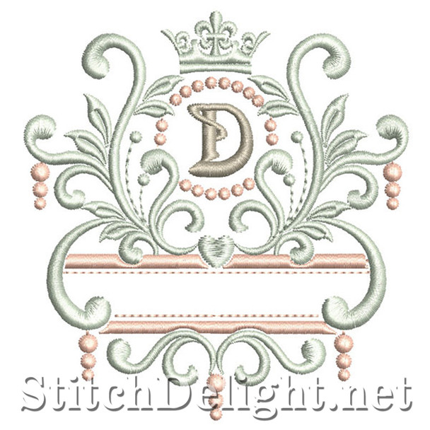 SDS1193 Elegant Royal Font D