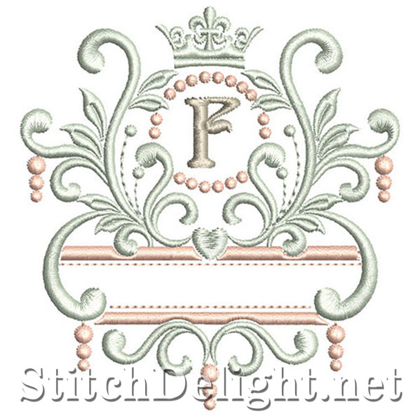 SDS1193 Elegant Royal Font F