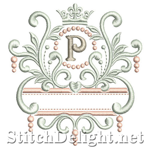 SDS1193 Elegant Royal Font P