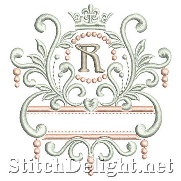 SDS1193 Elegant Royal Font R