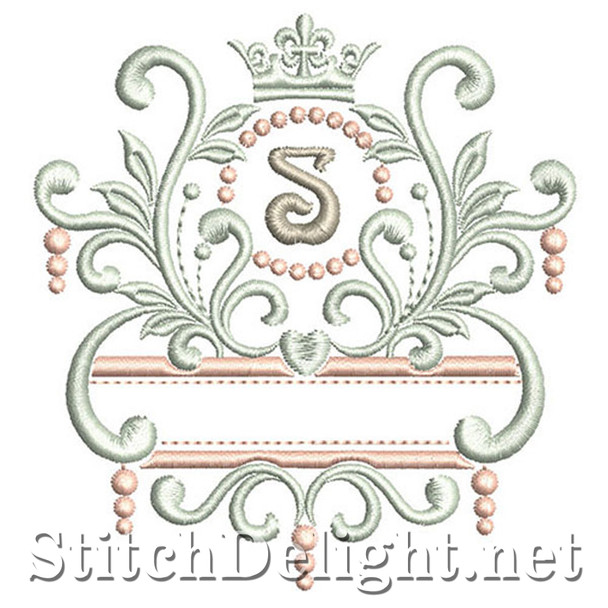 SDS1193 Elegant Royal Font S