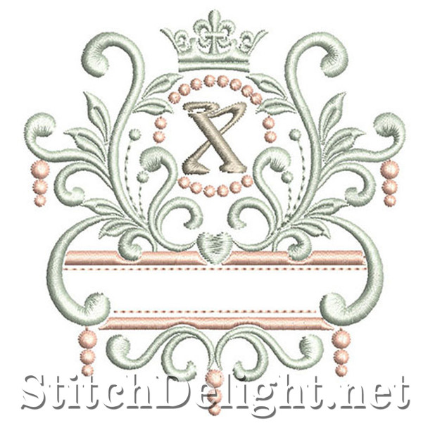 SDS1193 Elegant Royal Font X