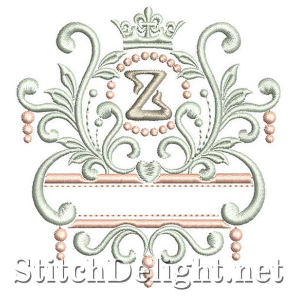 SDS1193 Elegant Royal Font Z