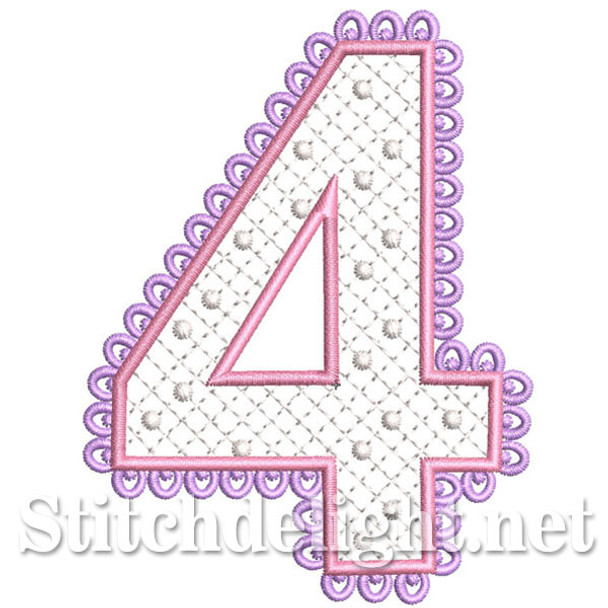 SDS0251 Lace Number 4