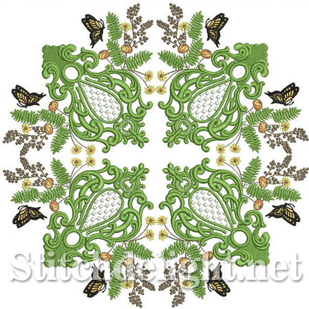 SDS0264 Butterfly Quiltblock