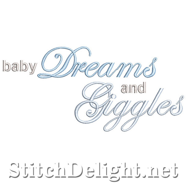 SDS1207 Dreams and Giggles Quote