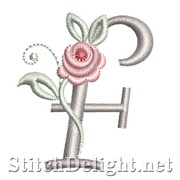 SDS1227 Antique Rose Font F