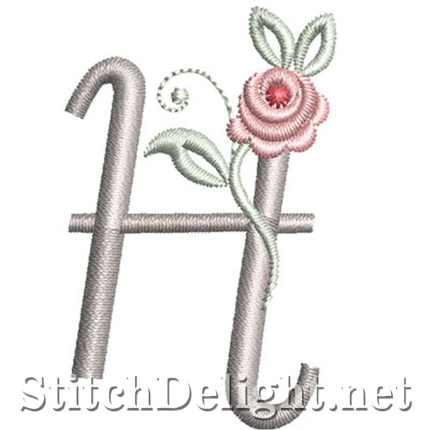 SDS1227 Antique Rose Font H