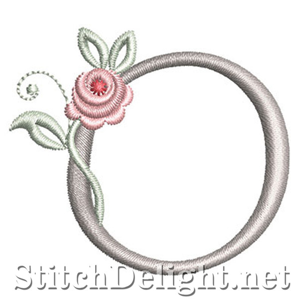 SDS1227 Antique Rose Font O