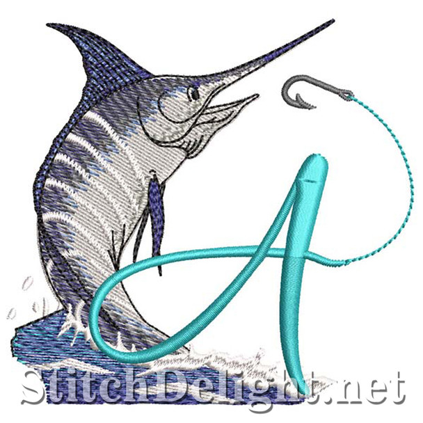 sds1270 Fishing Font A