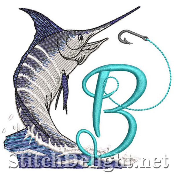 sds1270 Fishing Font B