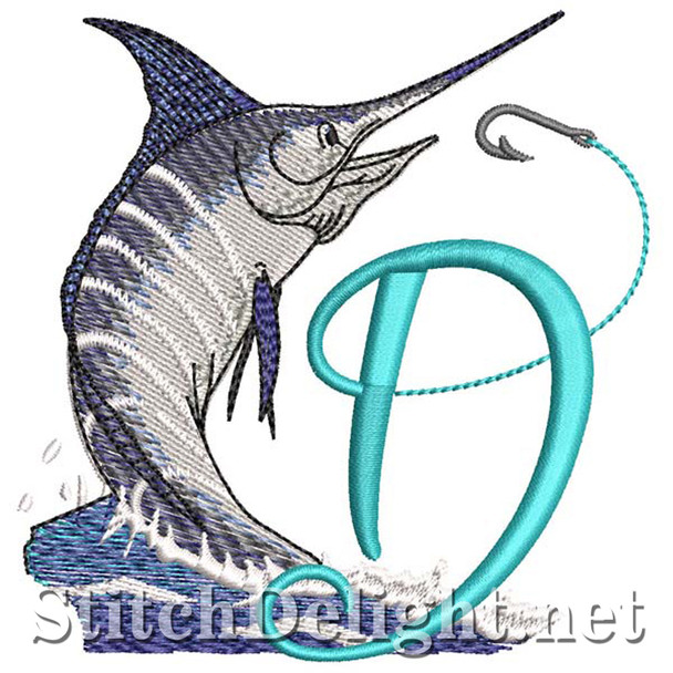 sds1270 Fishing Font D