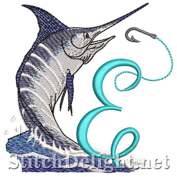 sds1270 Fishing Font E