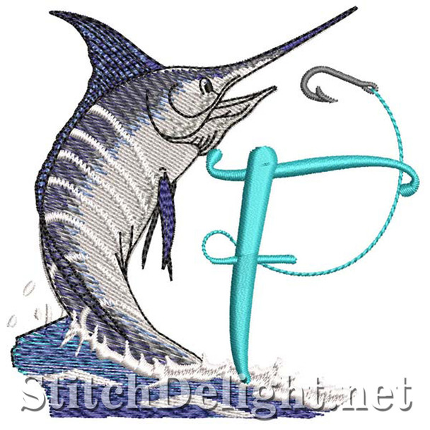 sds1270 Fishing Font F