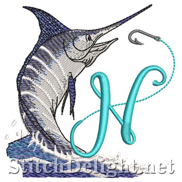 sds1270 Fishing Font N