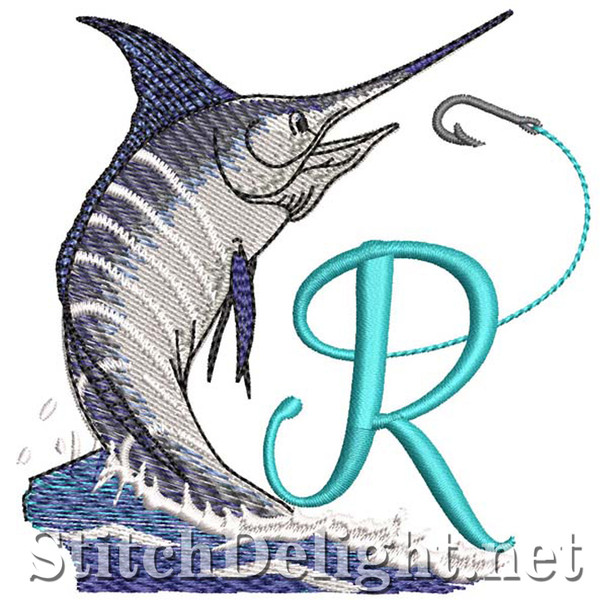 sds1270 Fishing Font R